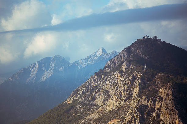mountain - byakkaya stok fotoğraflar ve resimler