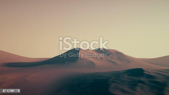 istock 3D Mountain 674298178