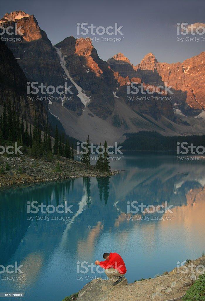 Mountain Prayer 2 royalty-free stock photo