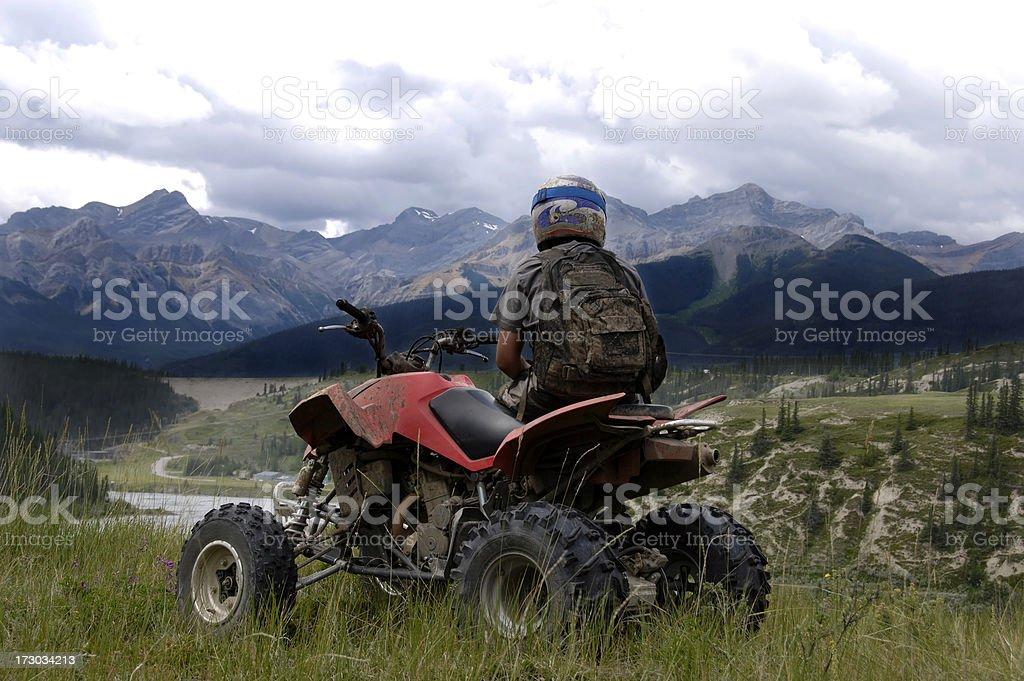 Mountain Quader stock photo