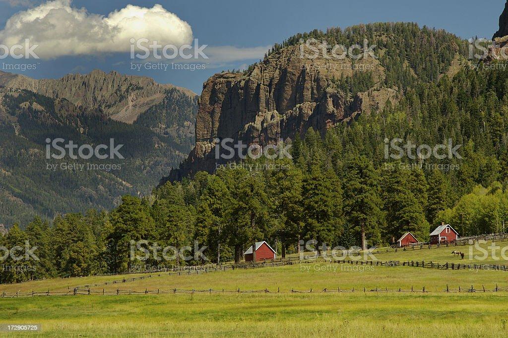 Mountain Ranch royalty-free stock photo