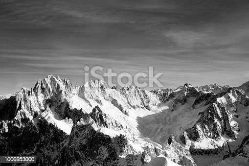 The views from the top of the Aiguille Du Midi are breath taking.