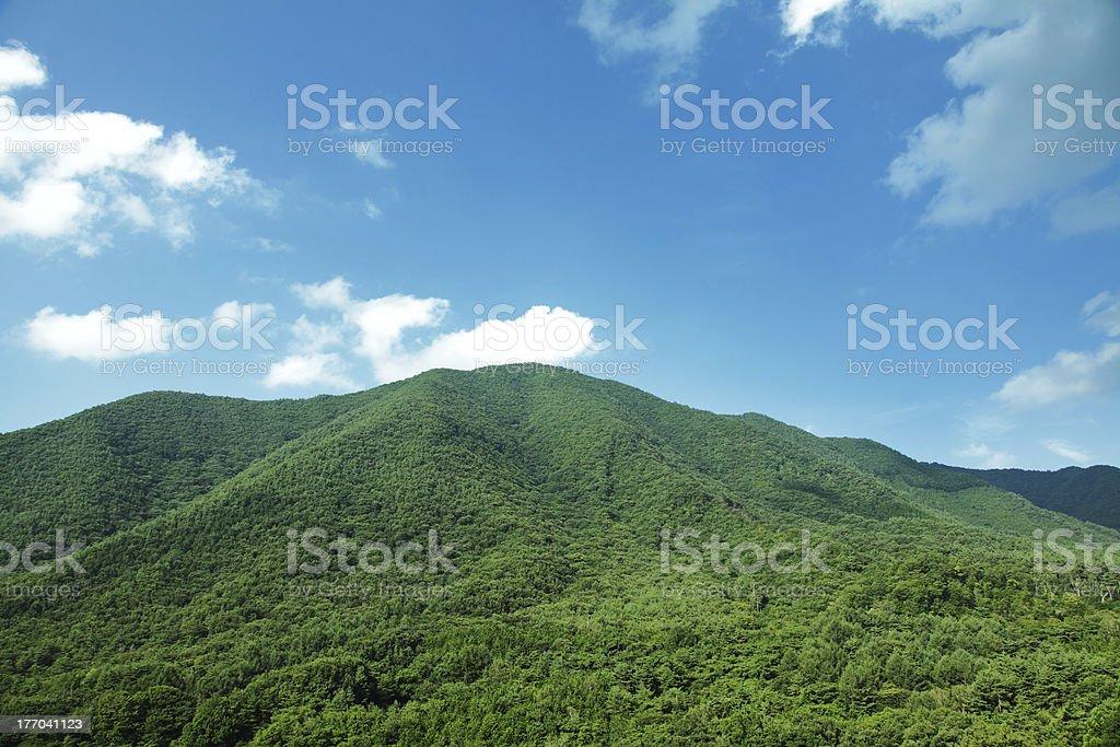 山の範囲 ストックフォト