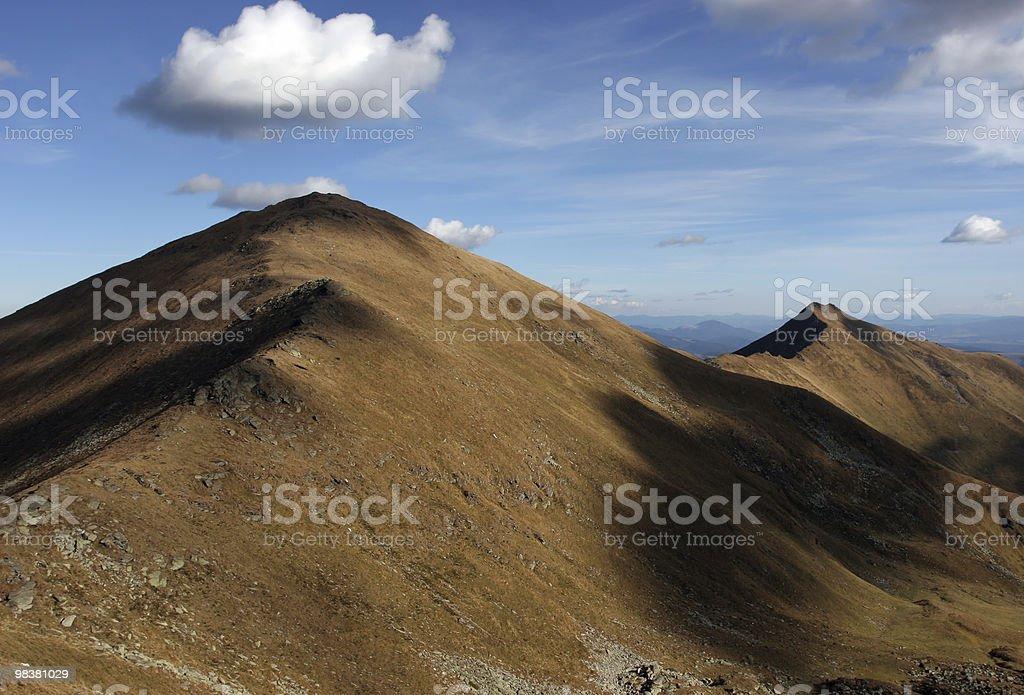 Mountain Range royalty-free stock photo