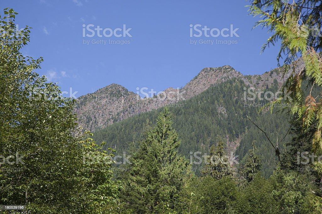 mountain range Washington State royalty-free stock photo