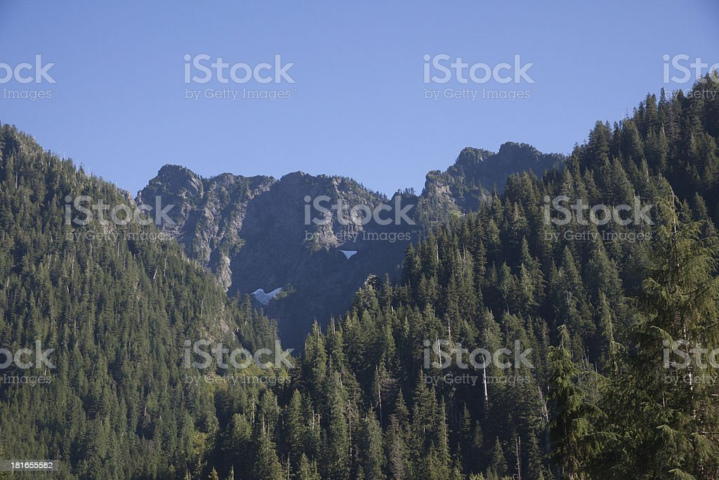 mountain range Washington State royalty-free stock photo