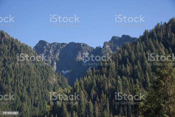 Mountain Range Washington State Stock Photo - Download Image Now