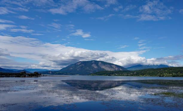 Mountain Reflection stock photo