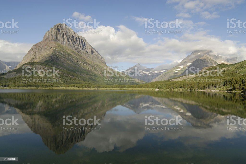 Mountain Reflection royalty-free stock photo