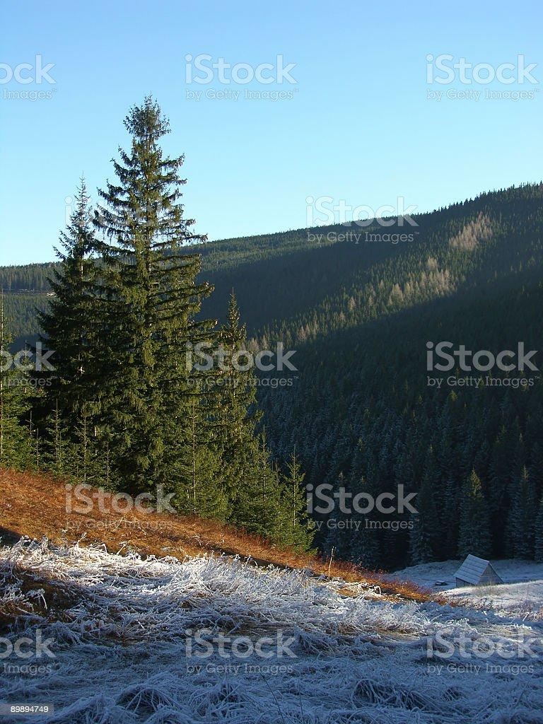 Mountain refuge Lizenzfreies stock-foto