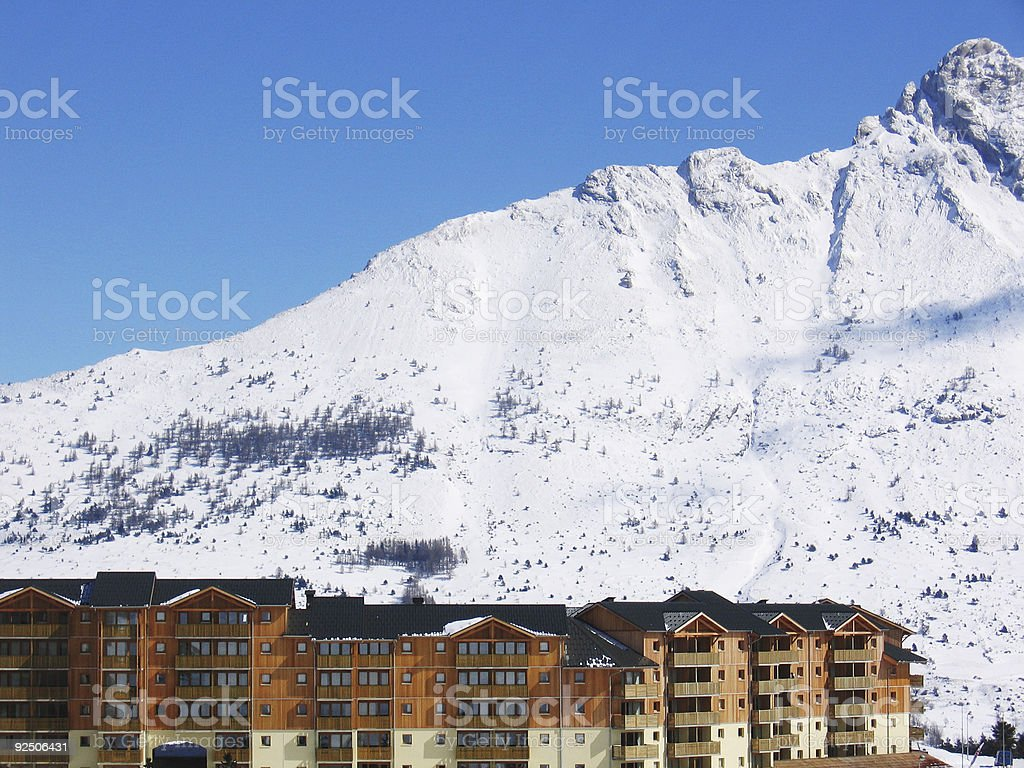 Mountain Resort royalty-free stock photo