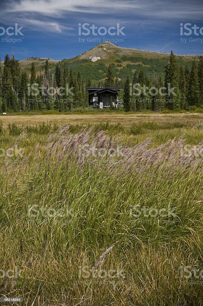 Mountain Resort royalty-free stock photo
