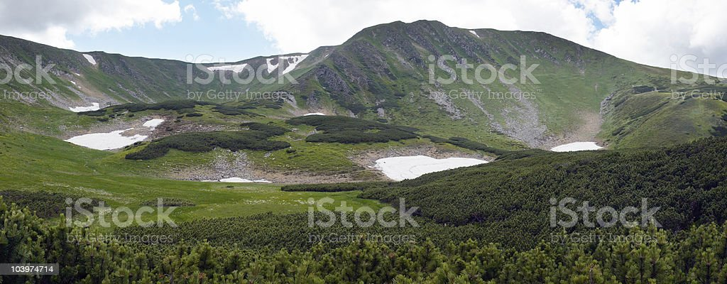 Mountain ridge royalty-free stock photo