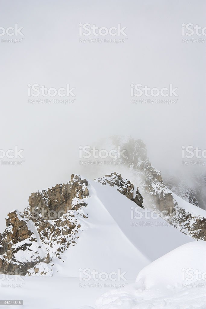 산 능선 royalty-free 스톡 사진