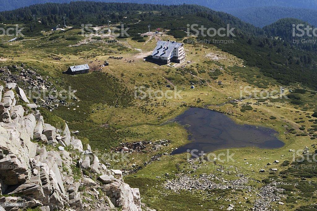 Mountain Rila stock photo