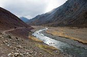 istock mountain river in Tibet. The waters of the Himalayas. 1292886388