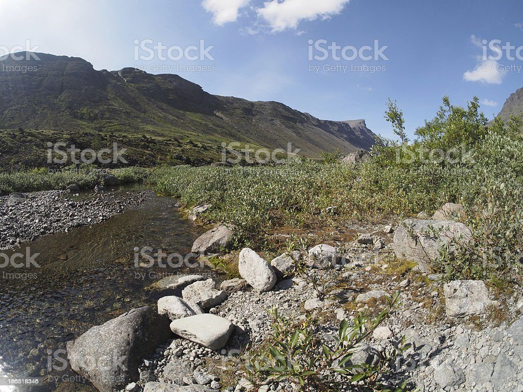mountain river royalty-free stock photo
