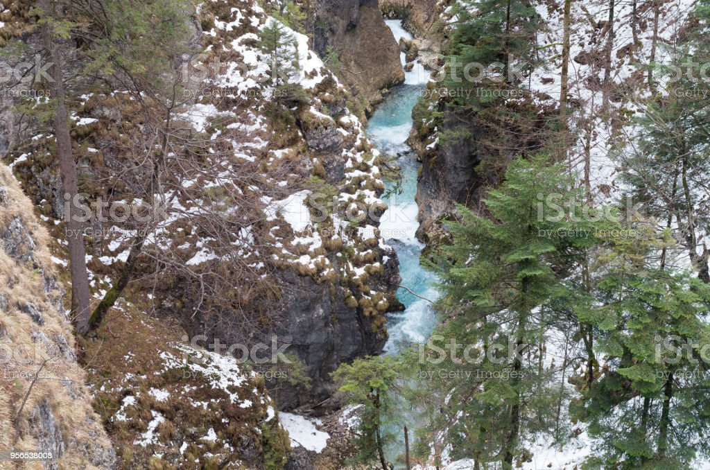 mountain River - Lizenzfrei Abenteuer Stock-Foto