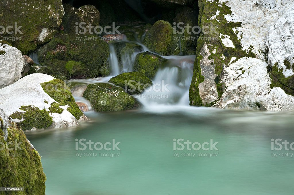 Mountain Rivulet royalty-free stock photo