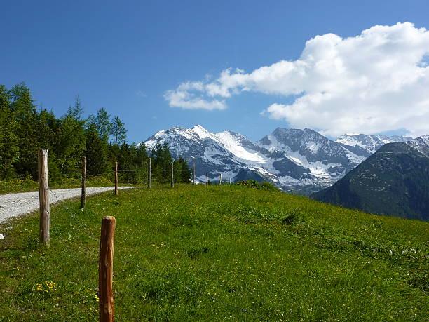 mountain road und mountain Bike World Championships trail in Österreich – Foto