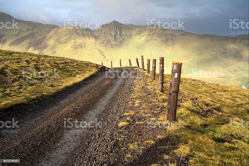 Mountain road, Iceland – Foto