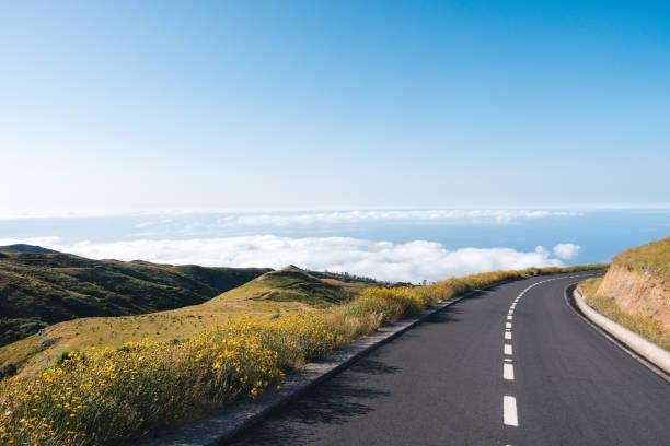 Route de montagne dans l'île de Madère - Photo
