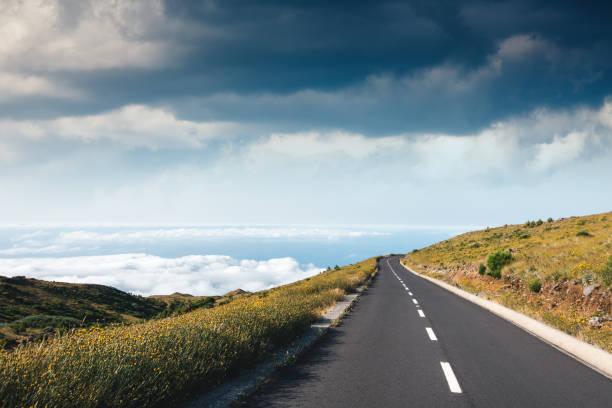 Route de montagne à Madère - Photo