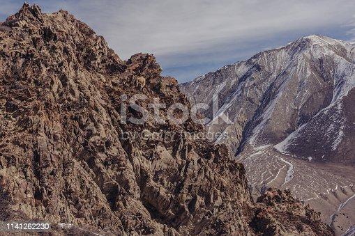 istock Mountain road, Nepal 1141262230