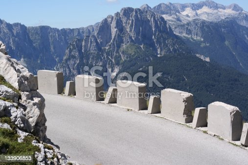 The highest mountain Road in Slovenia (road to Mangart)...