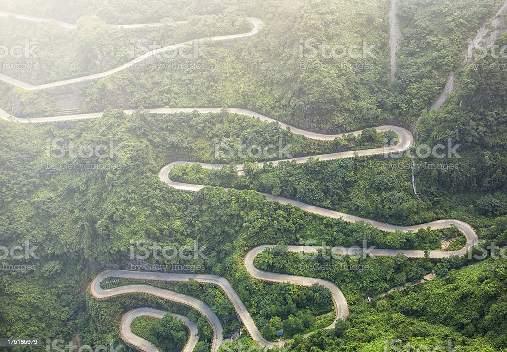 Mountain road – Foto