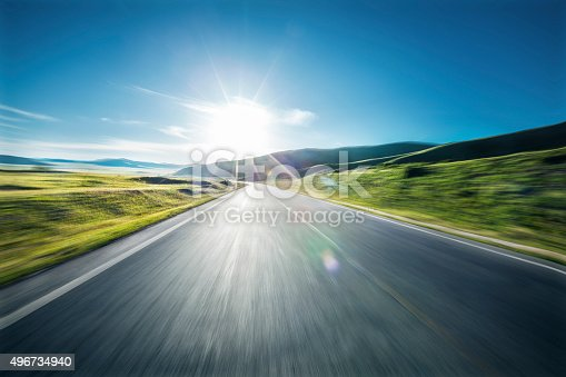 An highway in mountain