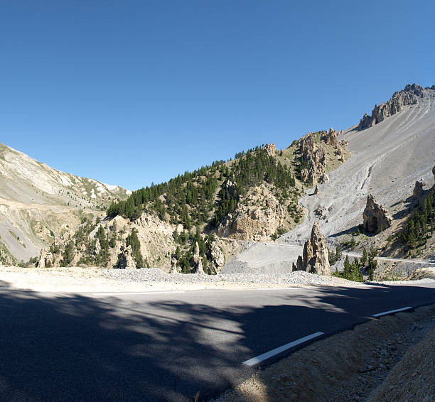 mountain road, Col D'Izoard in Alpen La casse Desserte – Foto