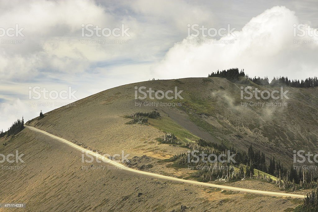 Mountain Road Wilderness Landscape royalty-free stock photo