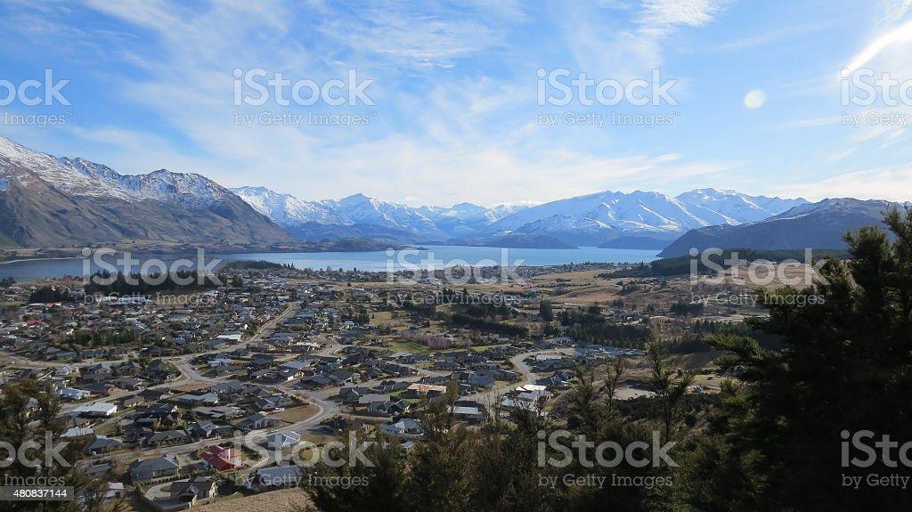 Mountain Scene royalty-free stock photo
