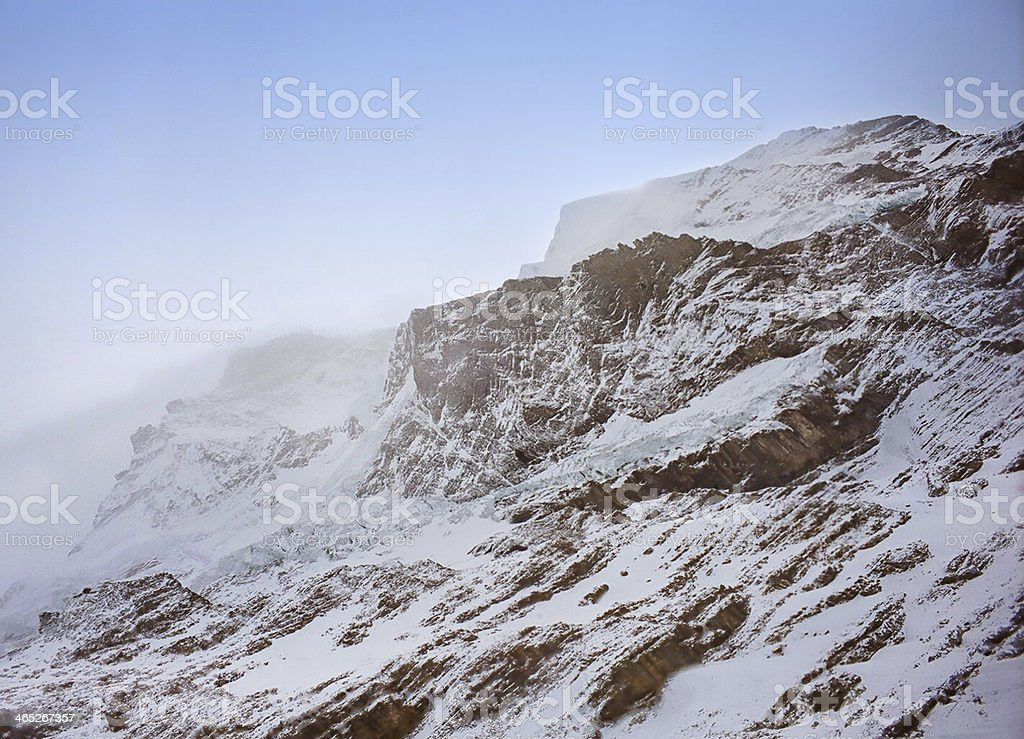 Mountain scenery of Swiss Alps royalty-free stock photo