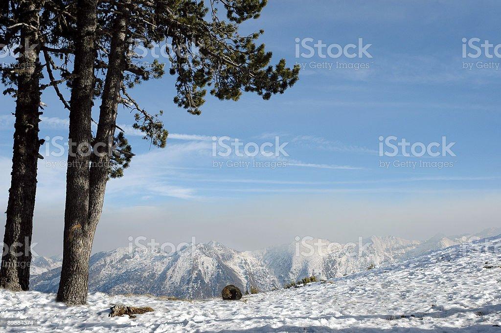 Горный ландшафт Стоковые фото Стоковая фотография