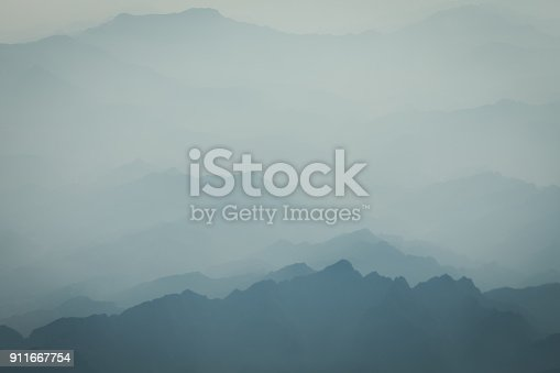 mountain sea of clouds