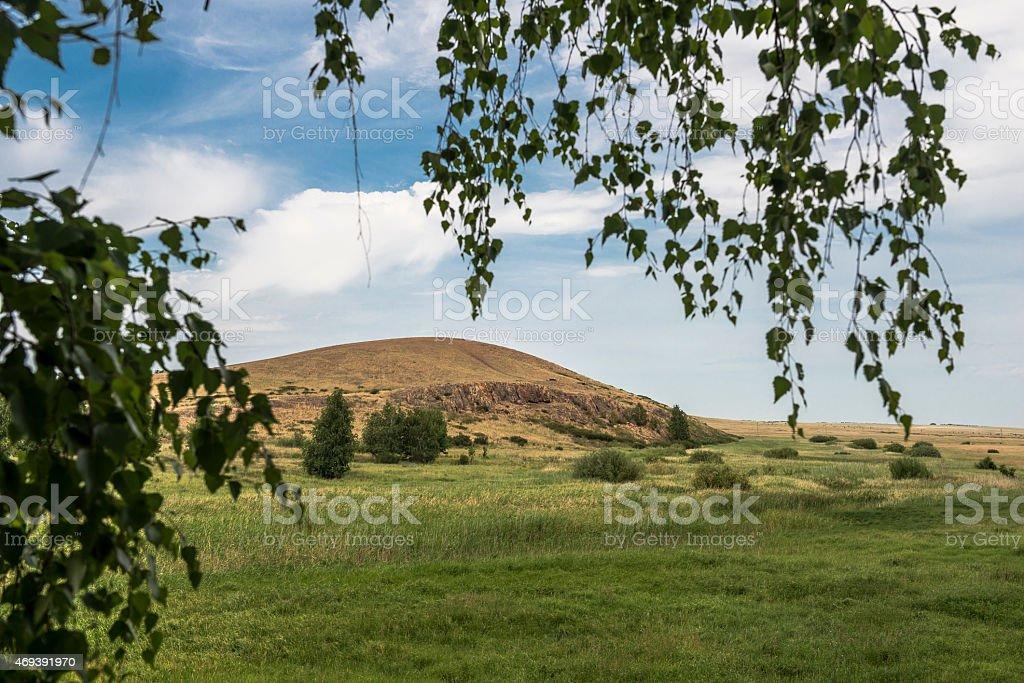 Mountain Shaman. stock photo