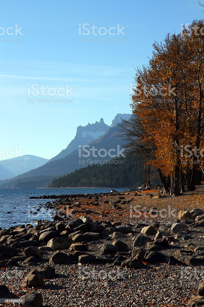 Mountain Shores stock photo