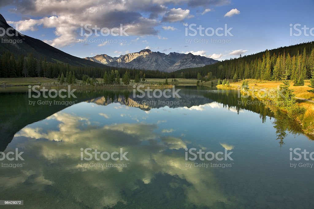 Mountain silence. royalty-free stock photo