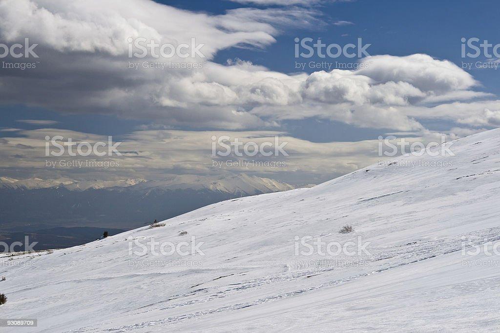 mountain slope royalty-free stock photo