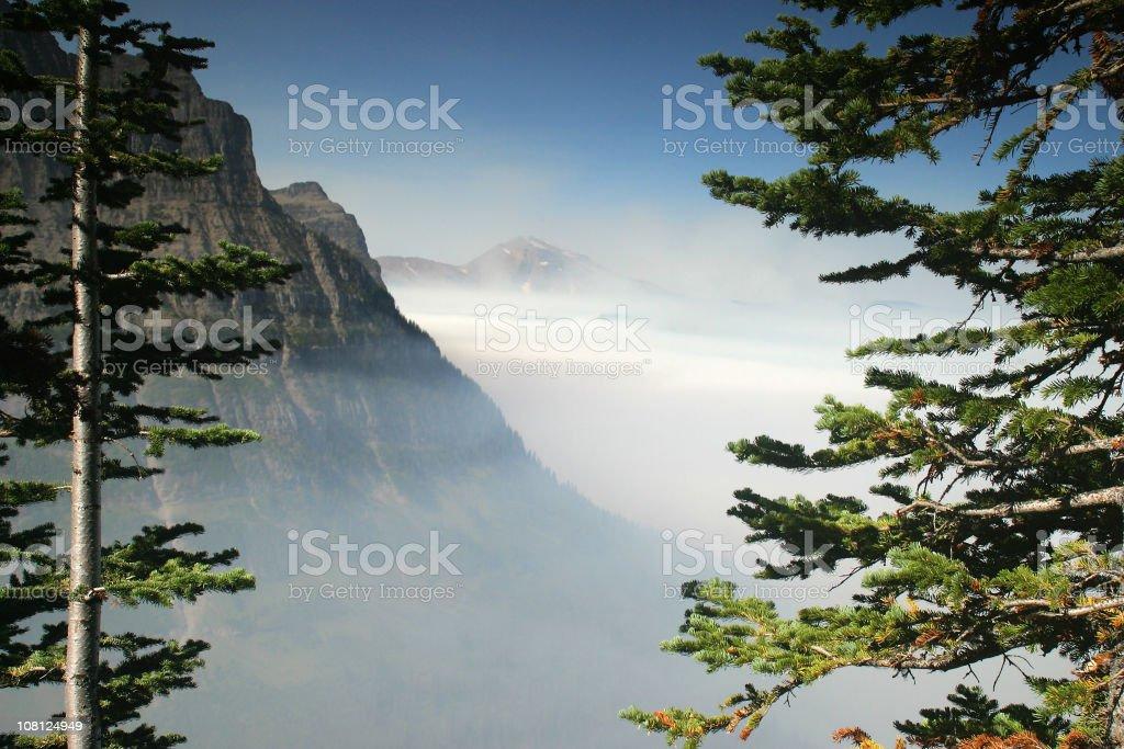 Mountain Smoke royalty-free stock photo