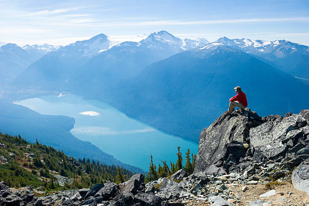 マウンテンソリテュード - カナダ旅行 ストックフォトと画像