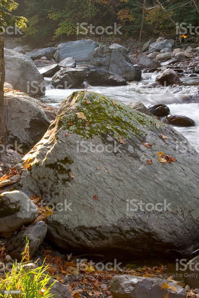 Mountain Stream 3 royalty-free stock photo