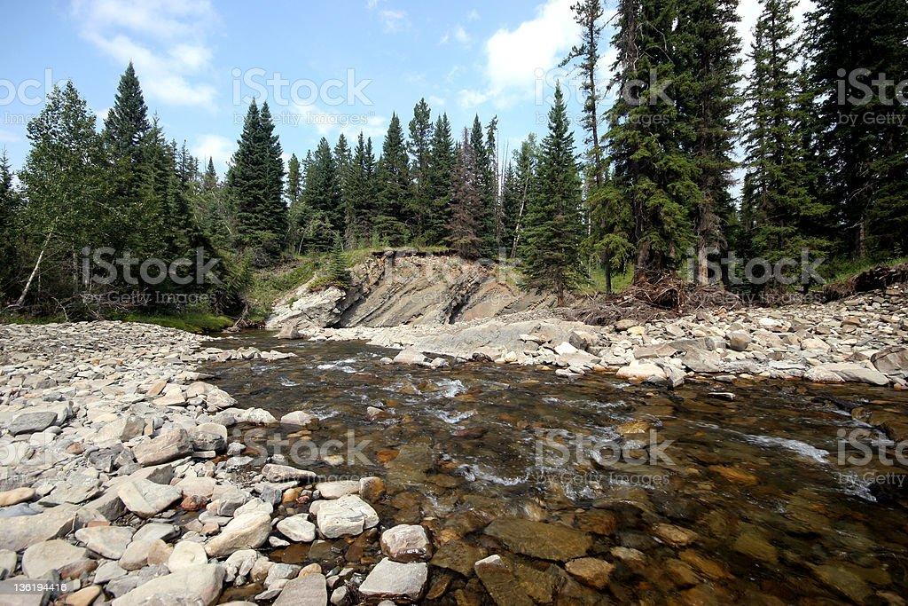 Mountain Stream (Series-one) royalty-free stock photo