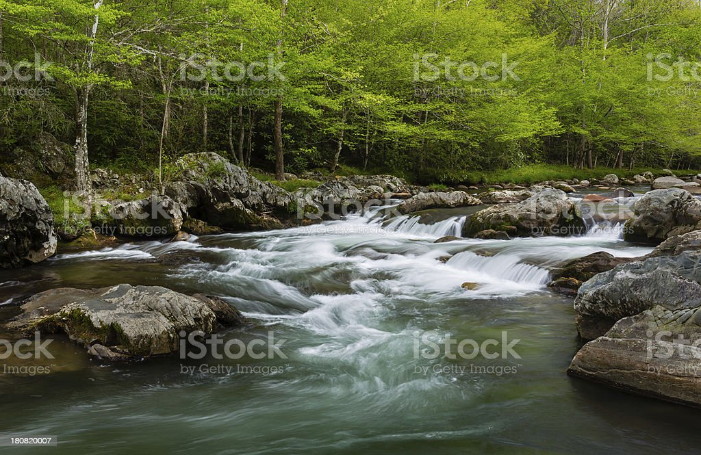 Mountain Stream stock photo