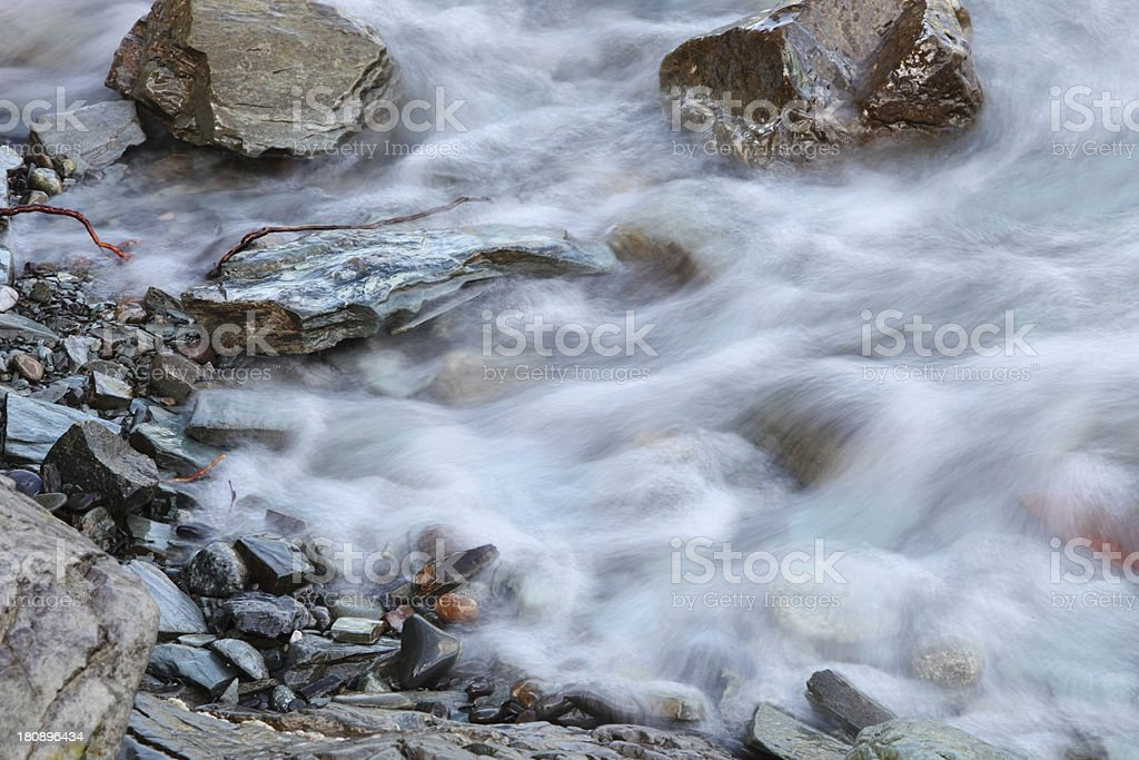 Mountain stream royalty-free stock photo