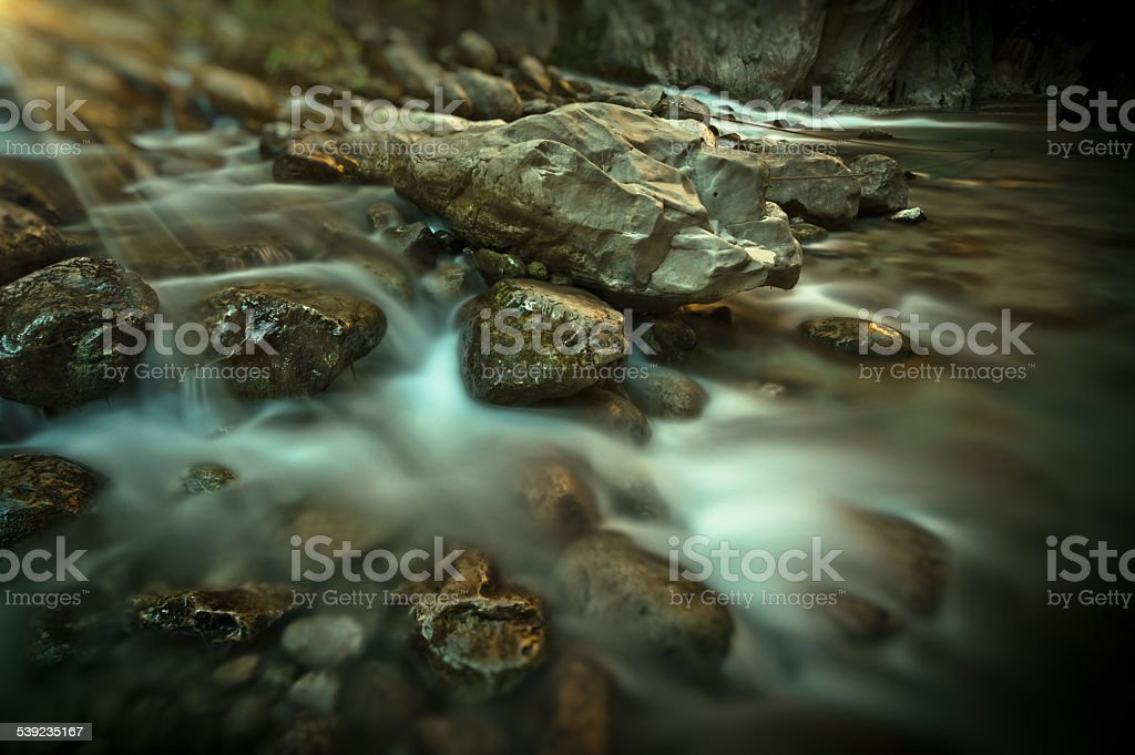 Montanha Stream foto royalty-free