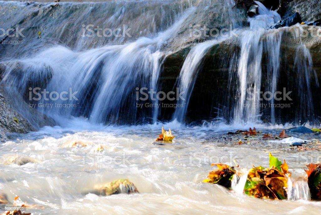 Mountain stream. royalty-free stock photo