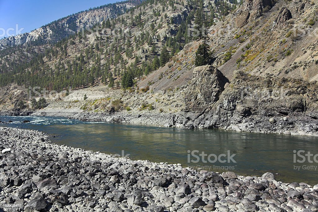 Mountain stream. royalty-free stock photo